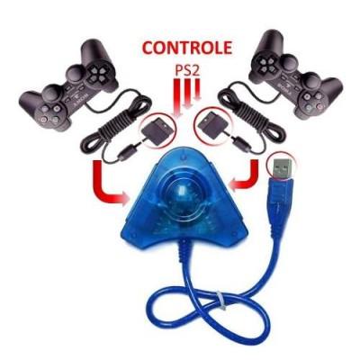 Adaptador Controle Ps1 Ps2 Ps3