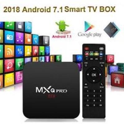 Tv box MXQ PRO 2 RAM 16 GB  JÁ CONFIGURADO COM MY FAMILY