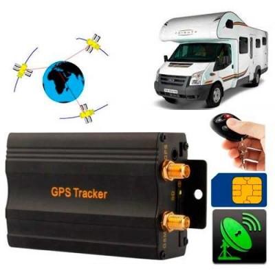 Rastreador Gps Bloqueador Veicular Tk-103