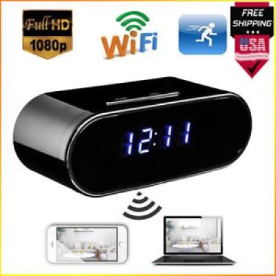 Câmera Espiã Relógio Wifi Ip 1080p Monitoramento Tempo Real
